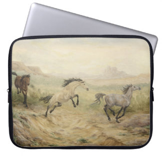 Wild Mustangs Laptop Sleeve
