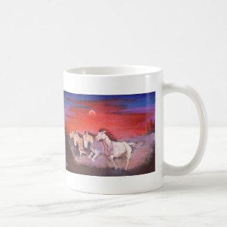 Wild Mustangs Basic White Mug