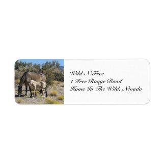 Wild-N-Free Return Address Label