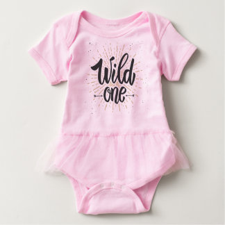 Wild One Baby Bodysuit