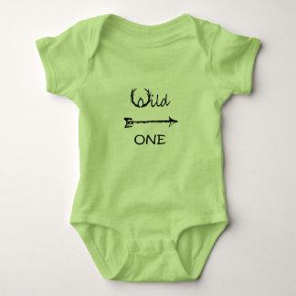 Wild One Baby Bodysuit