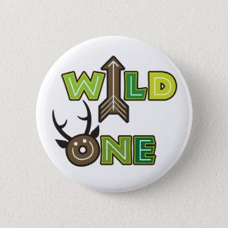 Wild One Button Design