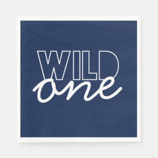 Wild One First Birthday Napkins Disposable Serviette