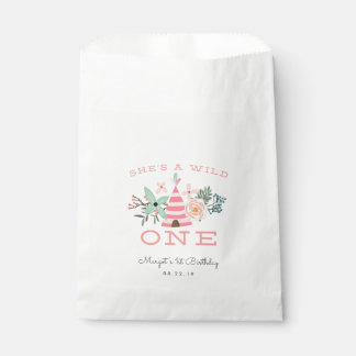 Wild One | First Birthday Party Favour Bag