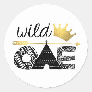 Wild One Sticker