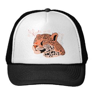 Wild Orange Jaguar Hat