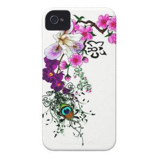 Wild Orchid Blackberry Case