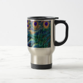Wild Peafowl Travel Mug