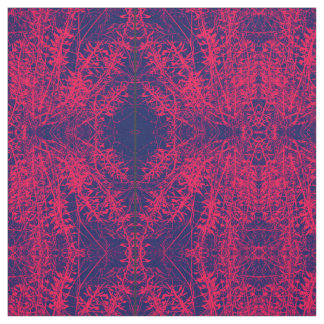 Wild Pink Lace Fabric