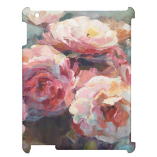 Wild Pink Roses iPad Cover