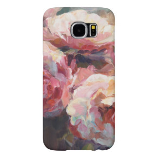 Wild Pink Roses Samsung Galaxy S6 Cases