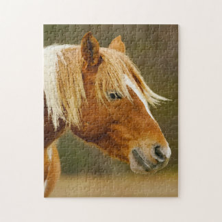 Wild Ponies West Virginia. Jigsaw Puzzle