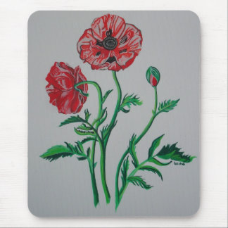 Wild Poppies Mouse Pad