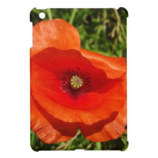 Wild poppy iPad mini cover