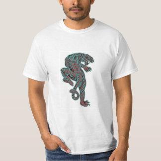 Wild Prehistoric Tiger T-shirts