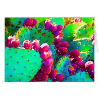 Wild Prickly Pears Card