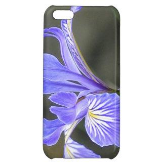 Wild Purple Iris iPhone 5C Cases