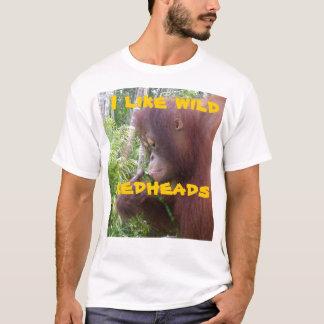 Wild Redhead Girlfriend Humor T-Shirt