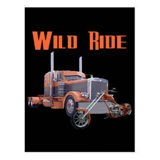 Wild Ride Postcard