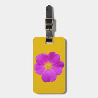 Wild Rose 2 Luggage Tag