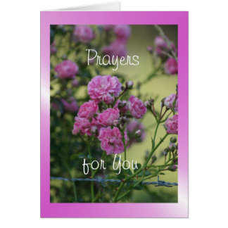 Wild Rose 7944 flvw - customise any occasion Card