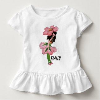 Wild Rose Cute Flower Child Floral Vintage Girl Toddler T-Shirt