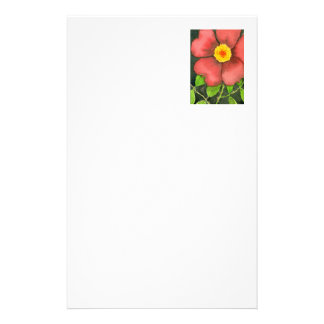 """""""Wild Rose"""" Floral Stationery"""