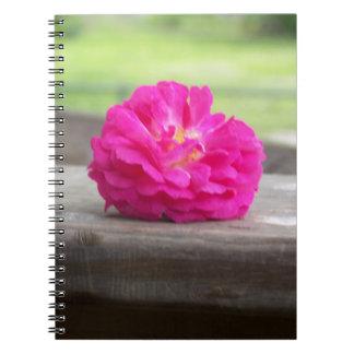 Wild Rose Notebook