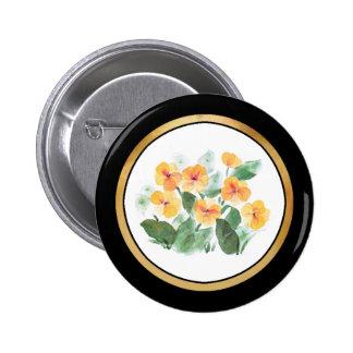 Wild Rose Yellow Button