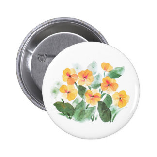 Wild Rose Yellow Buttons