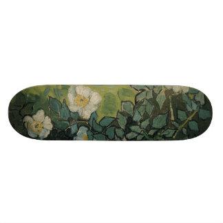 Wild Roses by Vincent Van Gogh Skate Board Deck