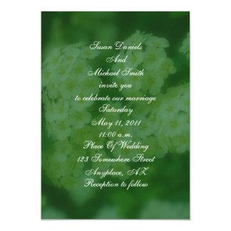 "Wild Roses Floral Wedding Invite 5"" X 7"" Invitation Card"
