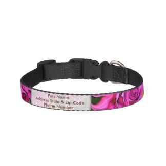 Wild Roses Pet Collar