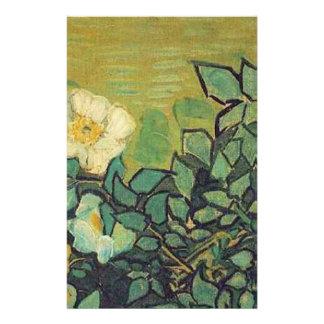 Wild Roses,  Vincent van Gogh. Stationery Paper