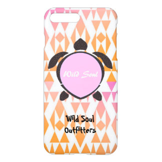 Wild Soul Outfitters (Pink) Turtle iPhone 7/6sPlus iPhone 7 Plus Case