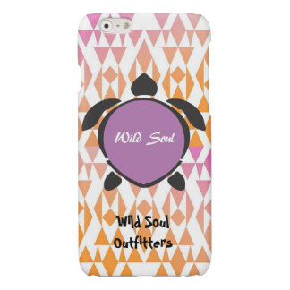 Wild Soul Outfitters (Purple)Turtle iPhone6/6sCase
