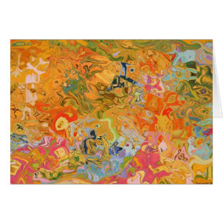 Wild Soul Tapestry Greeting Card