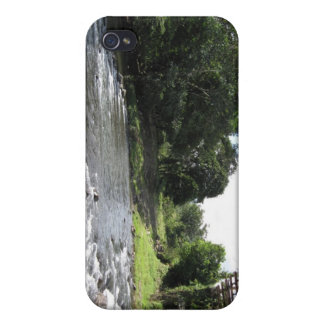 Wild South America - Vintage Bridge n River Cover For iPhone 4
