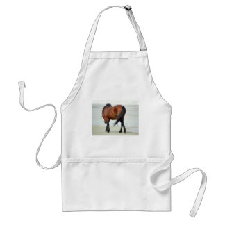 Wild Spanish Mustang OBX NC Adult Apron