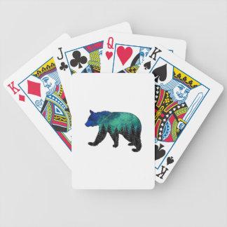Wild Spirit Bicycle Playing Cards