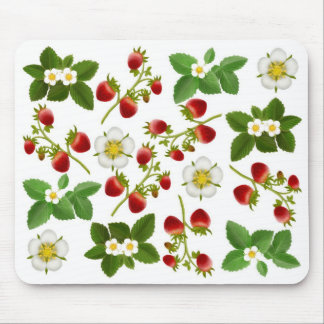 Wild Strawberries Computer Mousepad