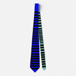 Wild Stripe Tie (Cool Blue)
