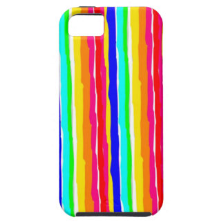 wild stripes flashy colors iPhone 5 covers