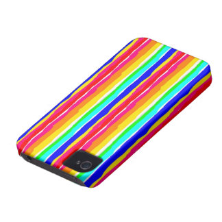 wild stripes flashy colors iPhone 4 Case-Mate cases