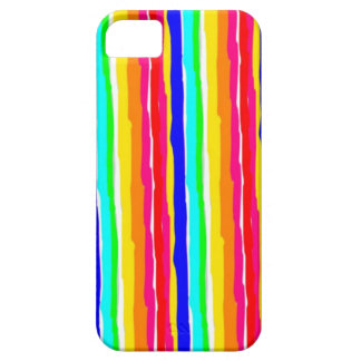 wild stripes flashy colors iPhone 5 case