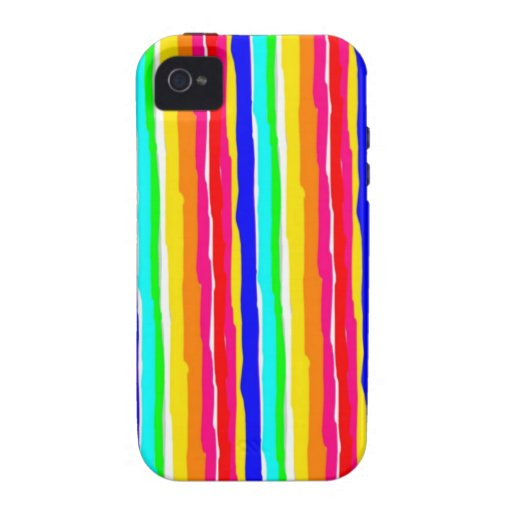 wild stripes flashy colors iPhone 4/4S cover