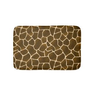 Wild Style Giraffe Spots Animal Skin Safari Print Bath Mat