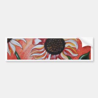 Wild Sunflowers Bumper Sticker