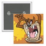 Wild TAZ™ 15 Cm Square Badge