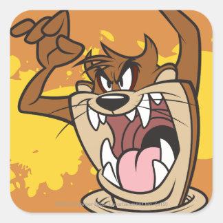 Wild TAZ™ Square Sticker